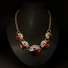 Irridescent Colourful Necklace