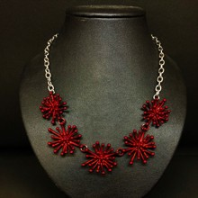 Pohutukawa Necklace - Red