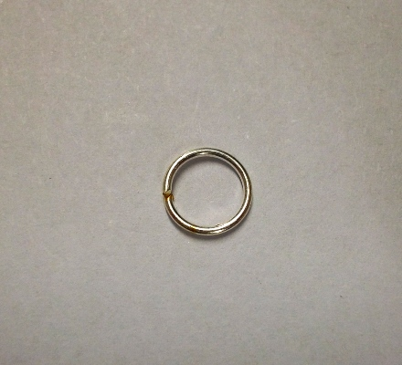 Jump Ring, Silver Colour - 6mm