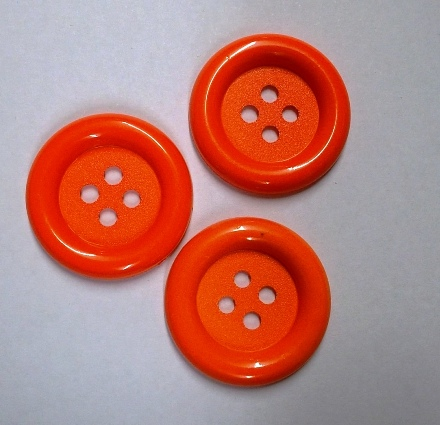 Jumbo Orange Button