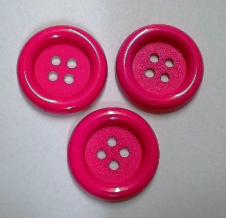 Jumbo Hot Pink Button