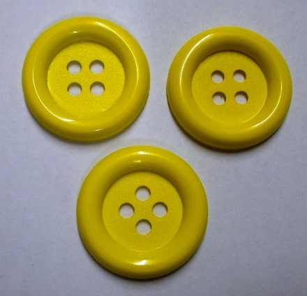 Jumbo Yellow Button