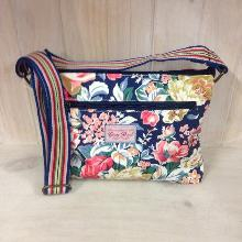 Tourist Bag - Blue Floral