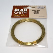 Bead Smith Bead Wire - Brass