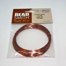 Bead Smith Bead Wire - Copper