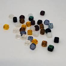 Czech Glass Cubes - Small