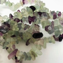 Strand, Small Fluorite Chips