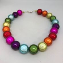 Thai Miracle Necklace -Rainbow Colours, Large