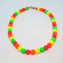 Tiffany Neon Rainbow Necklace - Pastel