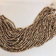 Freshwater Pearl Strand - Brown