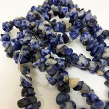 Strand, Small Reconstituted Lapis Chips