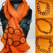 Rubber Tubing Necklaces