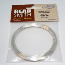 Bead Smith Bead Wire - Silver