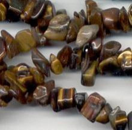 Strand, Small Tigers Eye Chips